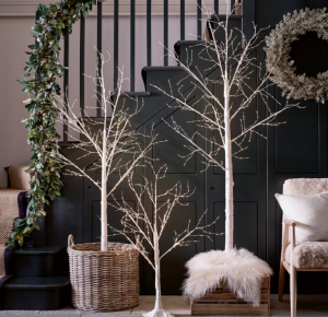 The White Company Sparkle Pre-Lit Tree