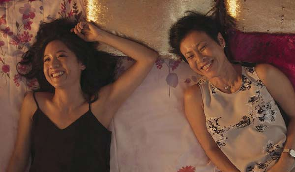 Rachel and her mom in Crazy Rich Asians