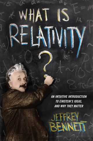 'What is Relativity' Book Cover