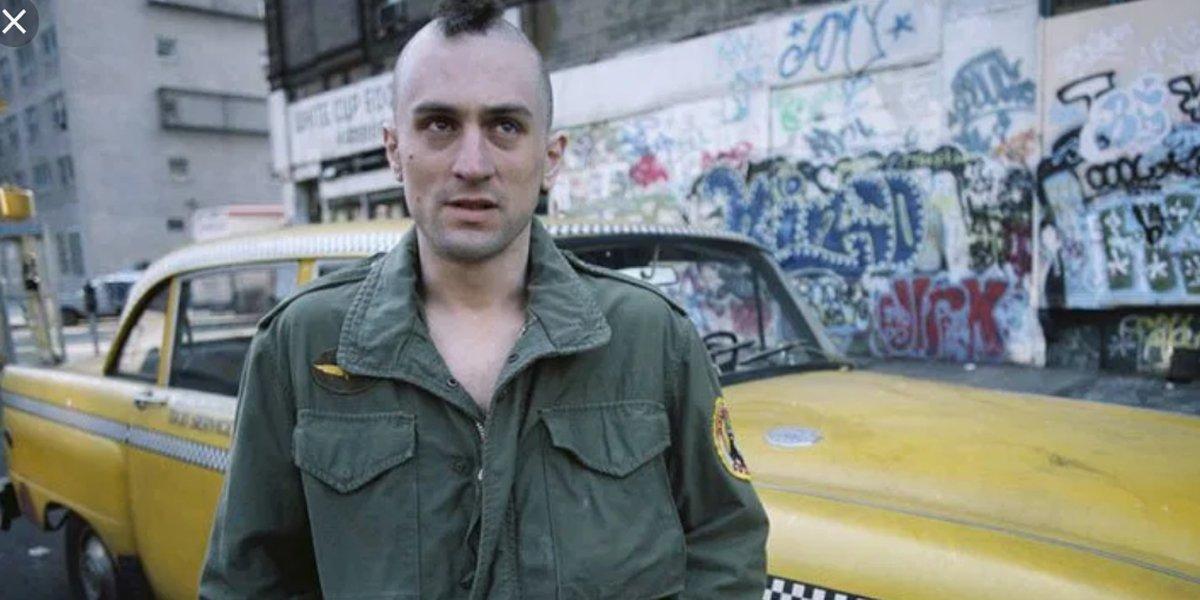 Taxi Driver Martin Scorses