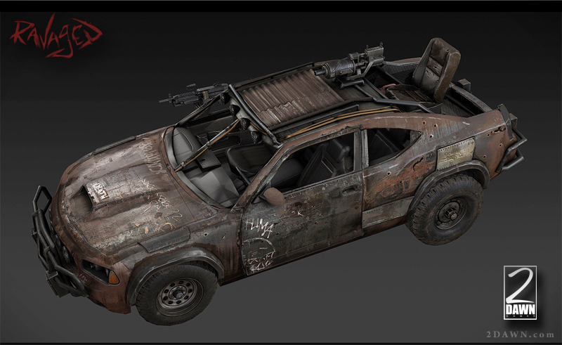 Cool Car And Zombie Games