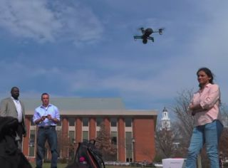 Johns Hopkins grad students and their professor found security flaws in a popular hobby drone.