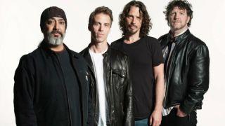A promo shot of Soundgarden