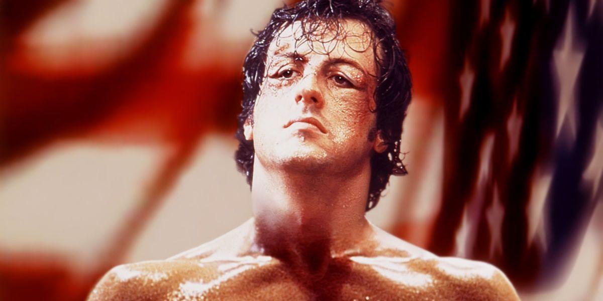 Rocky looks on in Rocky