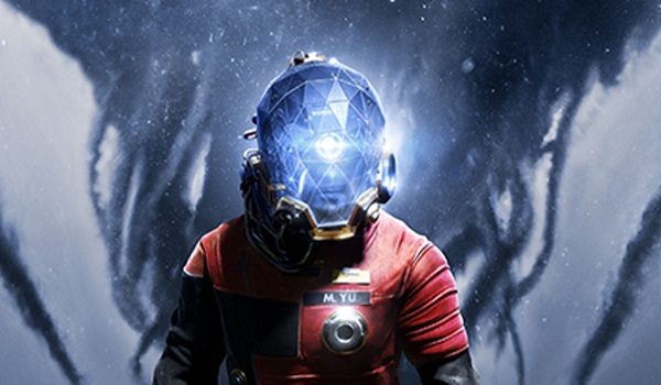 Morgan Yu dons a space suit in Prey