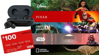 Hurry - get a free year of Disney Plus and your choice of Samsung Galaxy Buds or a $100 Visa card this Cyber Monday