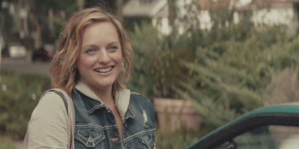 Elisabeth Moss as Shannon in the movie Meadowlands.