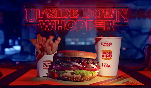 upside down whopper burger king stranger things