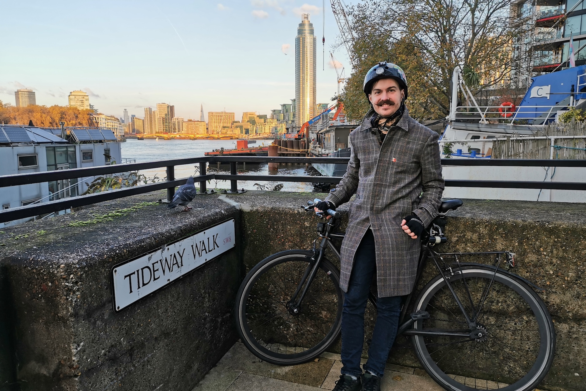 Cyclist spends five years riding every street in central London