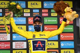 Richie Porte rides the Tour de France having won the recent Criterium du Dauphine