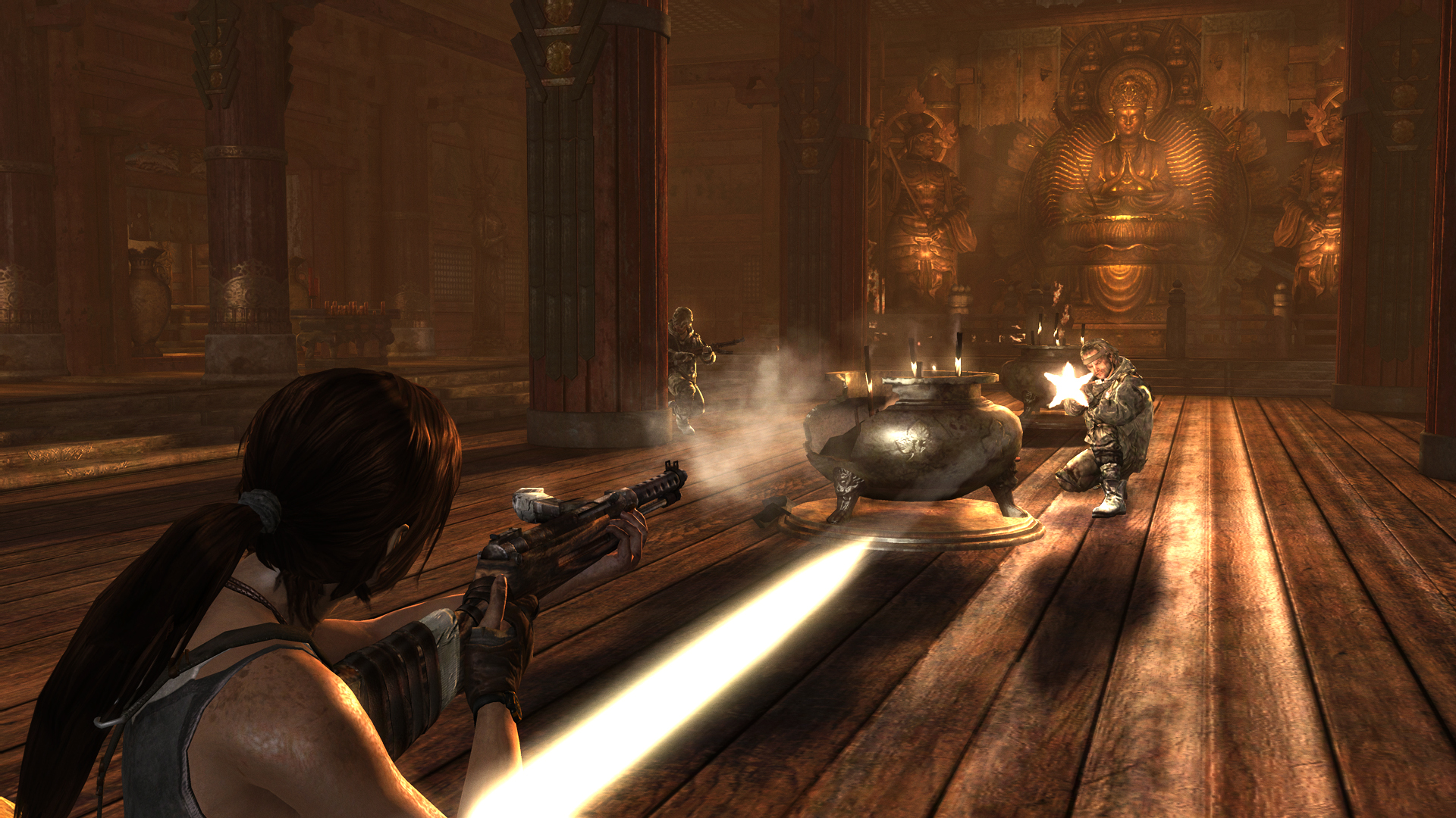 Tomb Raider Screenshots Explore Temple, Fight Samurai #25770