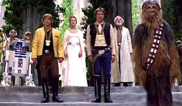 star wars a new hope final scene