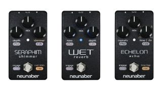 Neunaber has updated its Wet Reverb, Seraphim Shimmer and Echelon Echo pedals