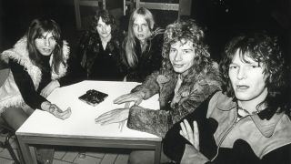 A photograph of Yes taken in 1972