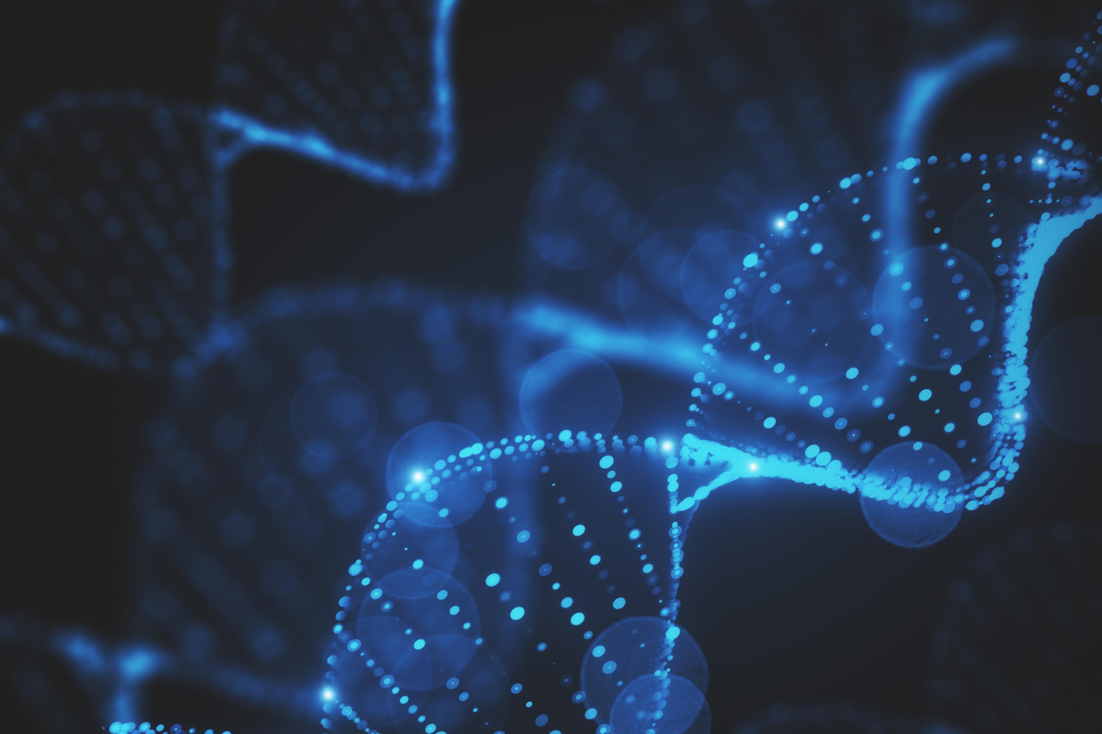 An illustration of DNA.