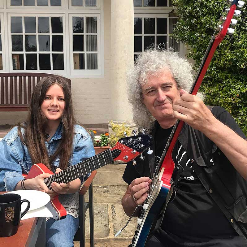 Brian May Guitars branches out from the Red Special with the Arielle signature model | Guitarworld