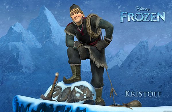 Frozen Character Poster Kristoff