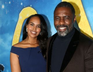 Idris and Sabrina Elba.