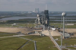 Aerial View of Launch Pad 39A SpaceX