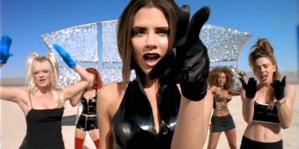 Spice Girls Say You'll Be There music video Victoria Beckham center