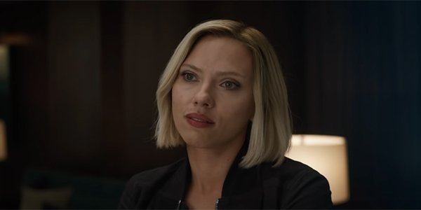 Is Black Widow S Hair Cgi D In The Avengers Endgame Trailer