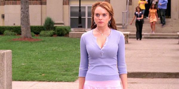 Lindsay Lohan < Mean Girls