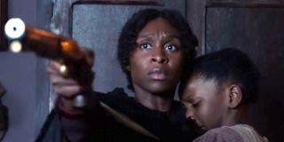 Cynthia Erivo as Harriet Tubman in Harriet