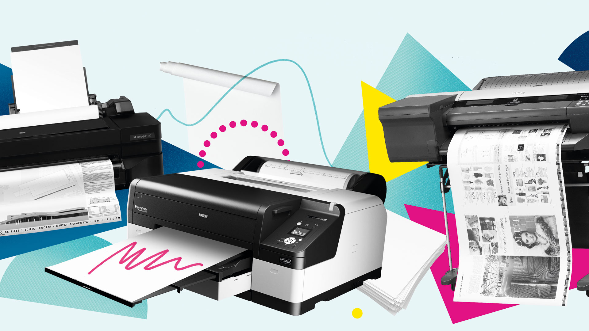 3 High End Printers For Professional Work Creative Bloq Plotter Hp Designjet T520 24 Inch