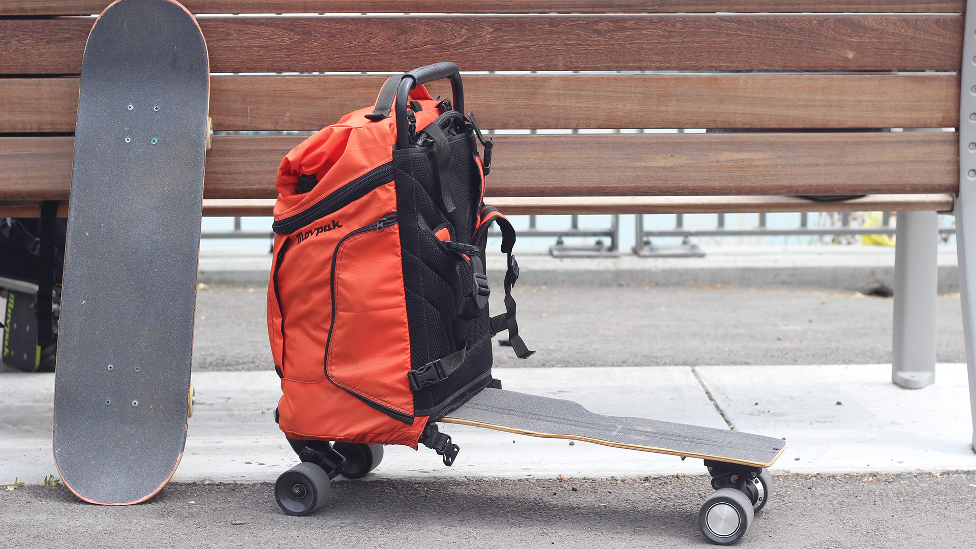the movpak is the first backpack you can ride to work techradar