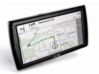 Mio Navman's forthcoming Spirit TV combines a Freeview TV tuner with a superb large-screened sat nav