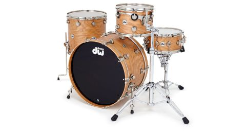 For the first time the Collectors Series drums are offered in 100 percent, eight-ply cherry wood