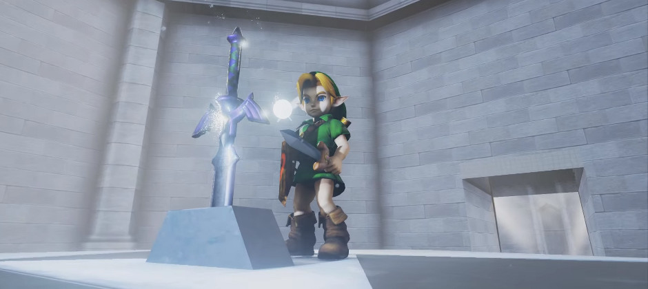 The Legend of Zelda: Ocarina of Time in Unreal Engine 4