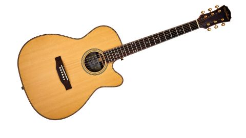 With a solid Sitka spruce top and solid rosewood back and sides, the SONGOCRW offers impressive spec for the money