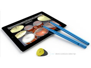 Strum or hit your iPad with Pix Stix