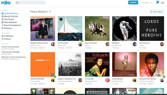 Rdio Follows Spotify's Suit, Now Streams Unlimited Free
