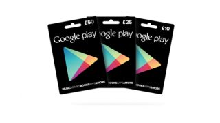 Make room iTunes! Google Play giftcards arrive in the UK