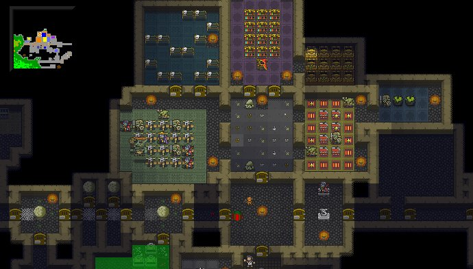 KeeperRL is a Dungeon Keeper inspired building sim and roguelike