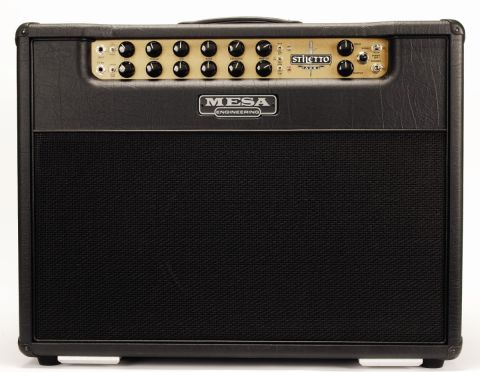 Mesa's all-black amp is an imposing and immaculately crafted beast.