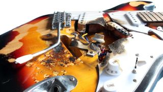 End of the Road guitars take relic'd finishes to a whole new level