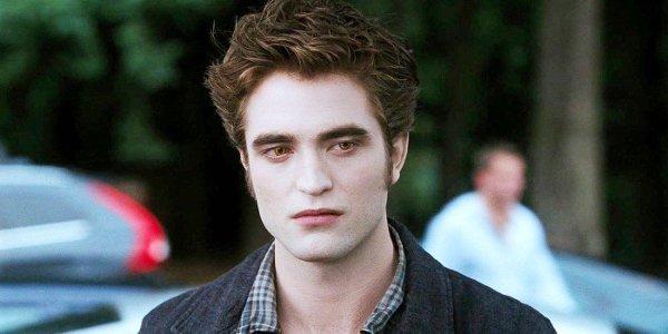 Twilight Robert Pattinson Edward Cullen parking lot shot