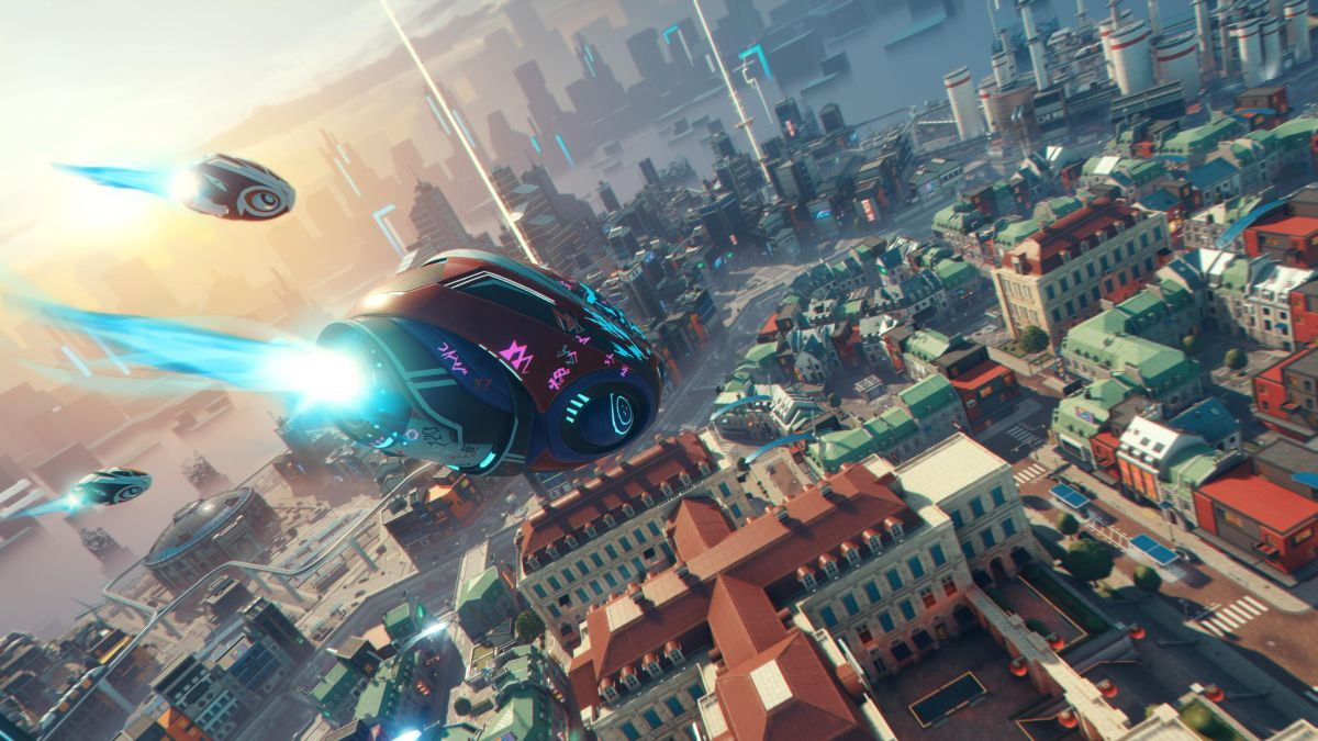 Ubisoft's Hyper Scape is a cyberpunk battle royale with parkour, hacking, and major Twitch integration