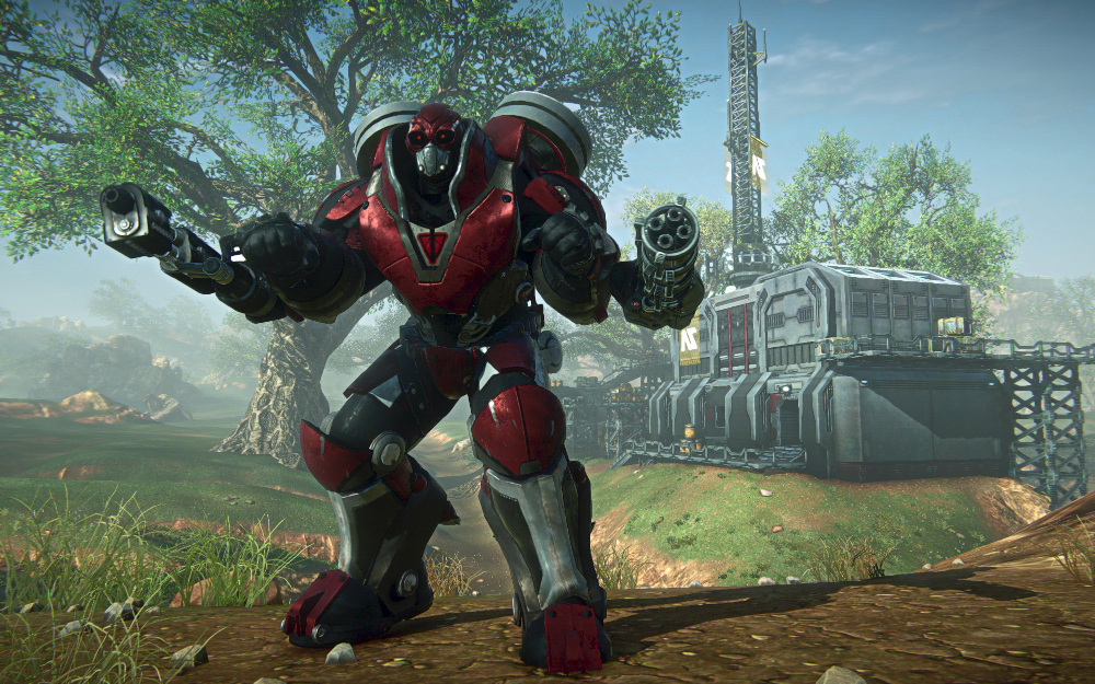 PlanetSide 2 MAX Suits Let You Become Iron Man #22141