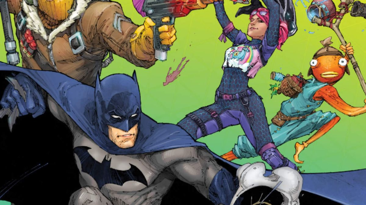 The Batman-Fortnite crossover comic is out, and I think I like it?