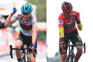 Anna van der Breggen and Primoz Roglic UCI 2020 rankings