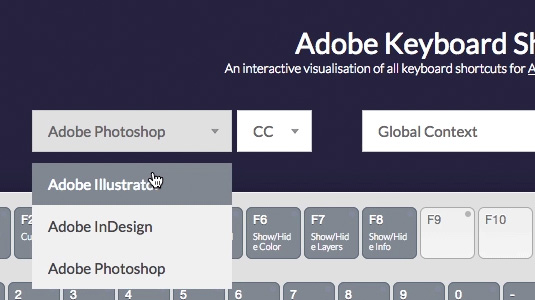Master Adobe shortcuts with new interactive tool | Creative Bloq