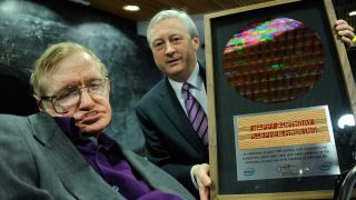 Intel goes the extra nanometre to celebrate Hawking's birthday