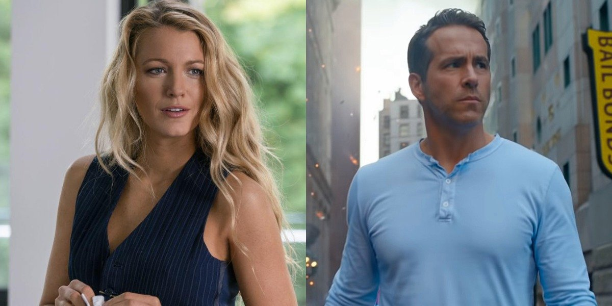 Blake Lively in A Simple Favor and Ryan Reynolds in Free Guy