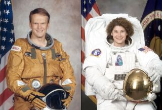 "Col. Karol ""Bo"" Bobko (ret.) and Maj. Gen. Susan Helms are in the U.S. Astronaut Hall of Fame's 2011 class of inductees."