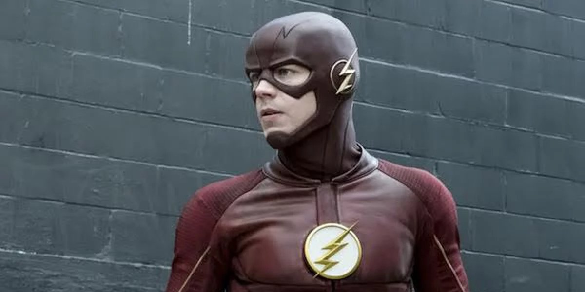 Grant Gustin as Barry Allen on The Flash