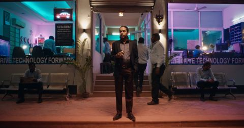Adarsh Gourav in Netflix's 'The White Tiger'.